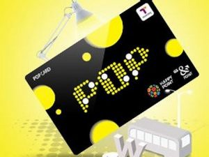 traffic pop card