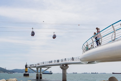 Songdo Sky Walk and Cable Car