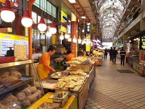 Sokcho Tourist Fish Market